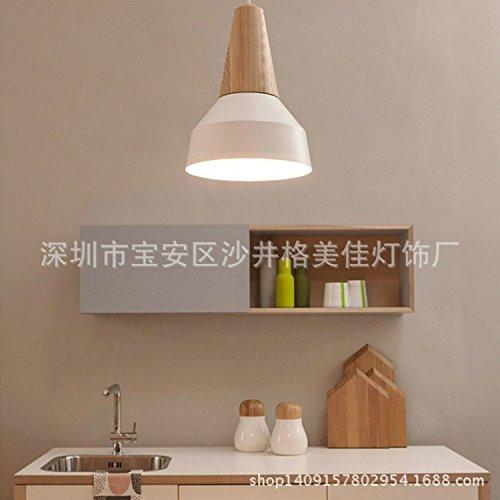 und Weise die LED Wohnzimmer Wohnzimmer Kronleuchter kreative Persönlichkeit Aluminium kunst Wohnzimmer Lampe, Durchmesser 360 mm Helle ihr Leben ()