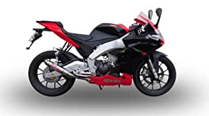 Aprilia Rs 4 125 2011/12 Scarico Omologato Serie Gpr Deeptone Inox Con Db Killer Estraibile, Impianto Completo Con Collettore