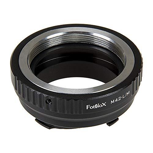Leica M-Monocromo Leica M3 M8.2 M9-P M9 Fotodiox Anillo Adaptador para Nikon Lente Leica M a la c/ámara M10 y Ricoh GXR Mount