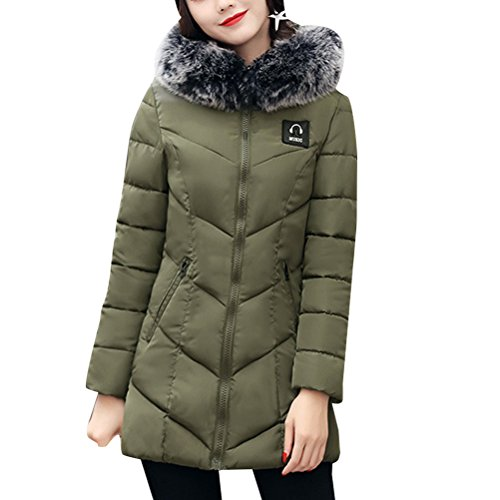 Zhhlaixing Mode Mantel Cotton Women Slim Hooded Coat Thick Collar Down Jacket Long Style with Quality