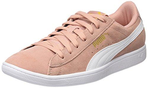 Puma Damen Vikky Sneaker Peach Beige White, 38 EU
