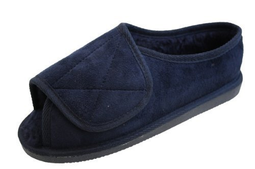 mens-or-ladies-very-wide-fitting-touch-fastening-memory-foam-insole-slippers-size-8