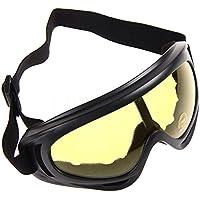 Beautyrain 1 PCS Masque de vélo Masque de vélo Lunettes de ski UV400 Anti Wind Sports Ski Pour vélo de montagne VTT BMX BMX Cadeau EZs97yGbQd