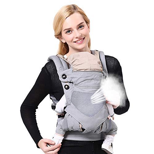 AZUO Baby Riemen Taillenhocker Sling Überkreuzen Multifunktiona Baby Halten Artefakt Riemen,Spacegray
