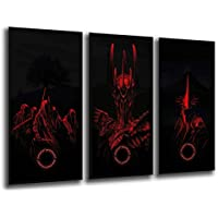 Cuadro fotografico Base Madera, 97 x 62 cm, El señor de los Anillos, Sauron Ref. 26013