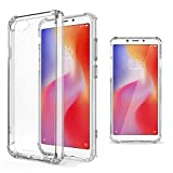 Moozy Shock Proof Silicone Case for Xiaomi Redmi 6A -