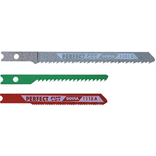 Scid - Assortiment mixte lames bois et métal / 3 lames