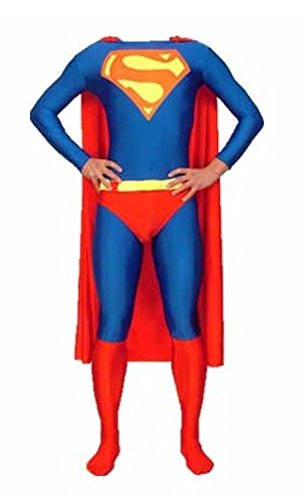 ostüm Und Umhang - Erwachsene Unisex: Männer Und Frauen Zweite Haut | Zentai Strampelanzug Kleidung Outfit Halloween Lycra Billig (X Groß) (Erwachsenen Strampelanzug Kostüm)