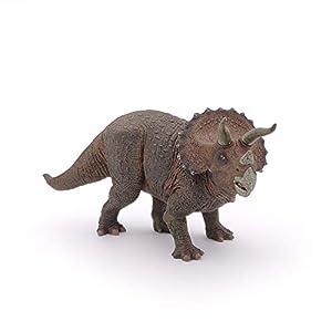 Esemebe- Figura Dinosaurio Triceratops 22X6,3X10,5CM, (Papo 2055002)