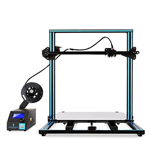 """SainSmart x Creality 3D-Drucker """"CR-10 Plus"""" vormontiert, hohe Präzision mit beheiztem Druckbett, große Druckgröße 500x500x500mm - 2"""