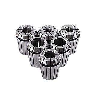 Set mit 6 Spannzangen ER32 für CNC-Gravurwerkzeug, 10 - 20 mm
