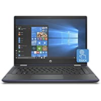 "HP Pavilion x360 14-cd0010ns - Ordenador Portátil Convertible 14"" FullHD (Intel Core i5-8250U, 8 GB RAM, 256 GB SDD, Intel Graphics, Windows 10), Color Azul - Teclado QWERTY Español"
