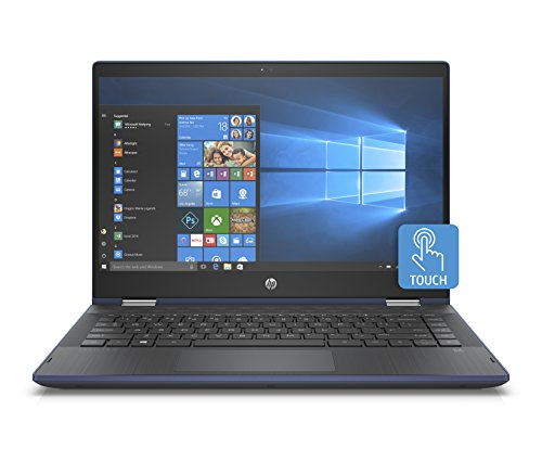 "HP Pavilion x360 14-cd0010ns - Ordenador Portátil Convertible 14"" FullHD (Intel Core i5-8250U, 8GB RAM, 256GB SDD, Intel Graphics, Windows 10) Color Azul - Teclado QWERTY Español"
