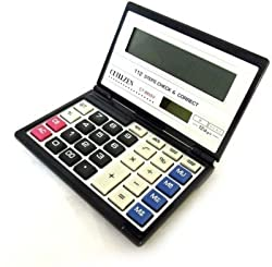 Cltllzen CT8855 Blue Diary Type Calculator