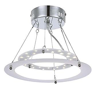 Suspension plafonnier 15W LED plafond lampe lumière luminaire éclairage Globo réglable 17100