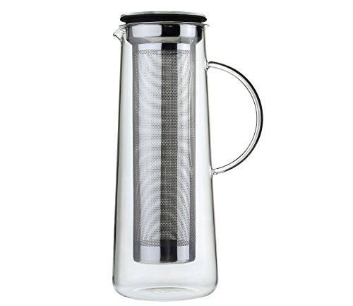 Zassenhaus 0000045017 kaffeezubereiter Aroma Brew 8 Tasses, Verre, Noir