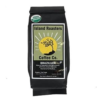 Island Roaster's Organic Brazilian Fair Trade Whole Bean Coffee