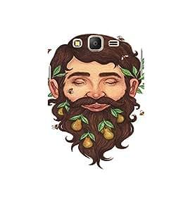 EPICCASE Wild Beard Mobile Back Case Cover For Samsung Galaxy E7 (Designer Case)
