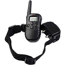 SF Net Trading Impermeable Anti ladridos Collar de Adiestramiento 300 Metros para Perros Vibración Remoto Adiestramiento / Sonido / Luz / Entrenamiento Collar Para Perro (Para 1 Perros)