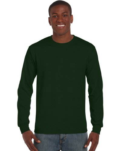 Ultra Cotton Classic Fit Adult T-Shirt - Farbe: Forest Green - Größe: S