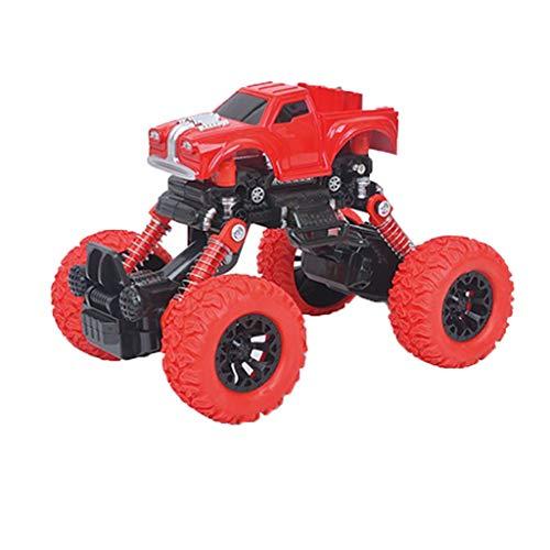 Webla Spielzeugauto Modell Trägheit Trägheit Auto Allradantrieb Off-Road Racing Rotes Trägheitssimulationsfahrzeug Allradantrieb All Terrain