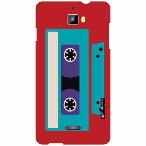 Micromax Canvas Nitro A311 Back Cover - Silicon Cassette Designer Cases