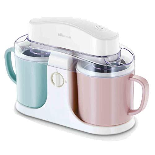 Macchina automatica per gelato mini frutta kid mini cylinder - 1000ml | macchina per gelato e yogurt surgelato fai-da-te, doppio isolamento, design silenzioso - il miglior regalo