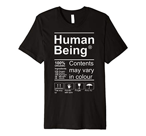 Human Being Product Label Tshirt