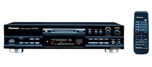 Pioneer MJ-D-508 MiniDisc-Deck schwarz