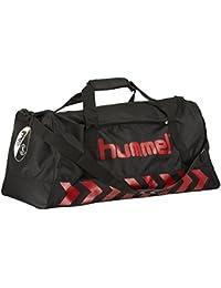 Hummel SC Freiburg Authentic Sports Bag - black/true red
