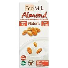 EcoMil - Leche de almendra sin azúcar bio EcoMil 1L