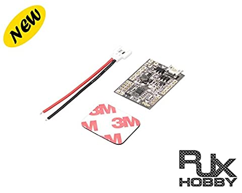 RJX Brushed F3 EVO Flight Control Board Support PPM SBUS receiver Hexacopter LED function 1s 2s battery for Mini Micro Nano quad FPV