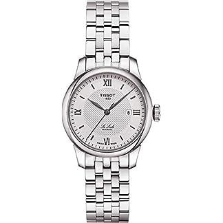 Tissot Reloj Analógico para Mujer de Automático con Correa en Acero Inoxidable T0062071103800