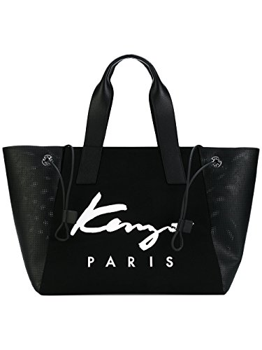 kenzo-womens-f752sa409f1799-black-canvas-tote