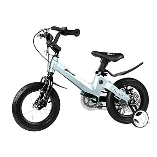 GAO YU SHOP Niño Bicicletas Bicicleta Azul 2-8 años, usado segunda mano  Se entrega en toda España