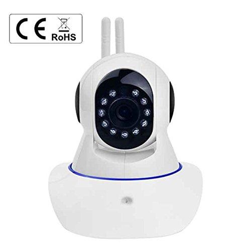 Smart Home HD Sicherheit WIFI IP Kamera, Wireless ONVIF Sicherheit TF Slot, 3,6mm Objektiv WiFi IP Kamera Cloud, one-key Installation und Einrichtung, automatisch Motion Tracking, Rauschunterdrückung, Multi-Plattform (511-objektiv)