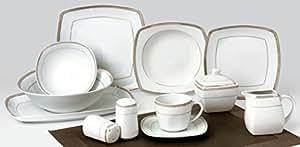Service de table + service à café: 43 pièces Service de table, Elizabeth TK-980 - pour 6 personnes