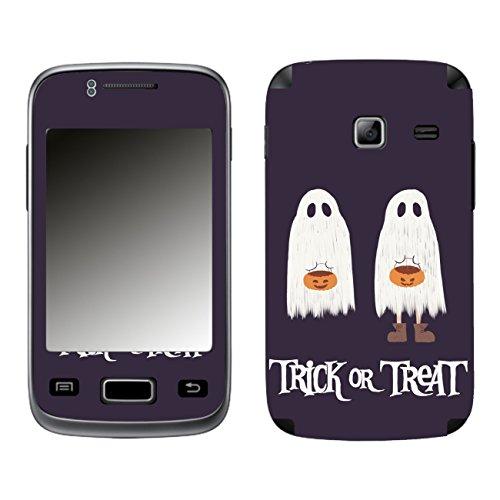 Disagu SF-104077_1216 Design Schutzfolie für Samsung S6102 Galaxy Y Duos - Motiv Halloweengeister 01