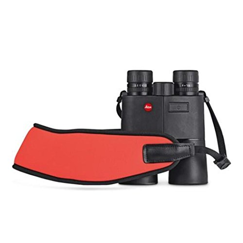 Leica 42163Ferngläser Neopren schwarz, orange–Gurt (Ferngläser, Neopren, Schwarz, Orange,...