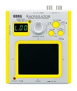 Korg Kaossilator Dynamic Phrase Synthesizer - Yellow Case