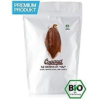 Kakaopulver BIO 1Kg | Rohes Kakao Pulver aus biologischem Anbau | Ohne Zucker | Unverwechselbares & Intensives Aroma | Aus Hochwertigen Peruanischen Kakaobohnen | 11% Fett | Stark Entölt | 1000g