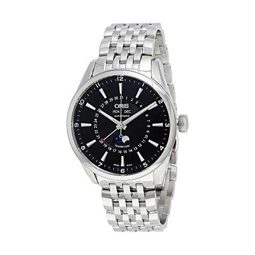Oris Artix Complication Moonphase Automatic Steel Mens Watch Calendar...
