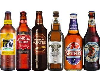 Englisches Bier Paket mit 6 Bieren