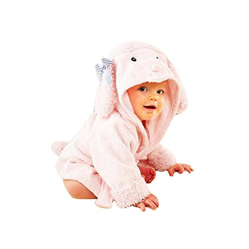 Kinder Bademäntel Baby Cotton Animal Bade Strickjacke Cardigan Nightgown Spa Handtuch Strandtuch ()