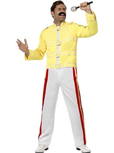 Queen Freddie Mercury Costume (Fancy Mercury Freddie Kostüm Dress)