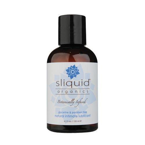 Sliquid 125 ml Organics Natural Gel Thick Lubricant by Sliquid