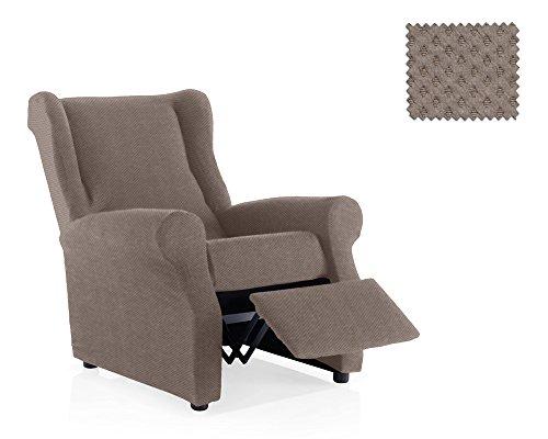 JM Textil Bielastische Sessel-Husse Relax Hamlet Größe 1 Sitzer (Standard.), Farbe 06