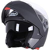 Moto Casco Integrale Unisex Casco Lavabile Casco Ciclo