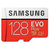 #6: Original OEM Quality Samsung EVO Plus Class 10 128Gb Micro SDXC 100 Mb/s Memory Card with SD Adapter
