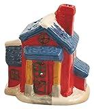 Galileo Casa Casetta Porta T-Light, Ceramica, Assortito, 10x11x16 cm